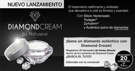 Crema antiedad antiarrugas con polvo diamante